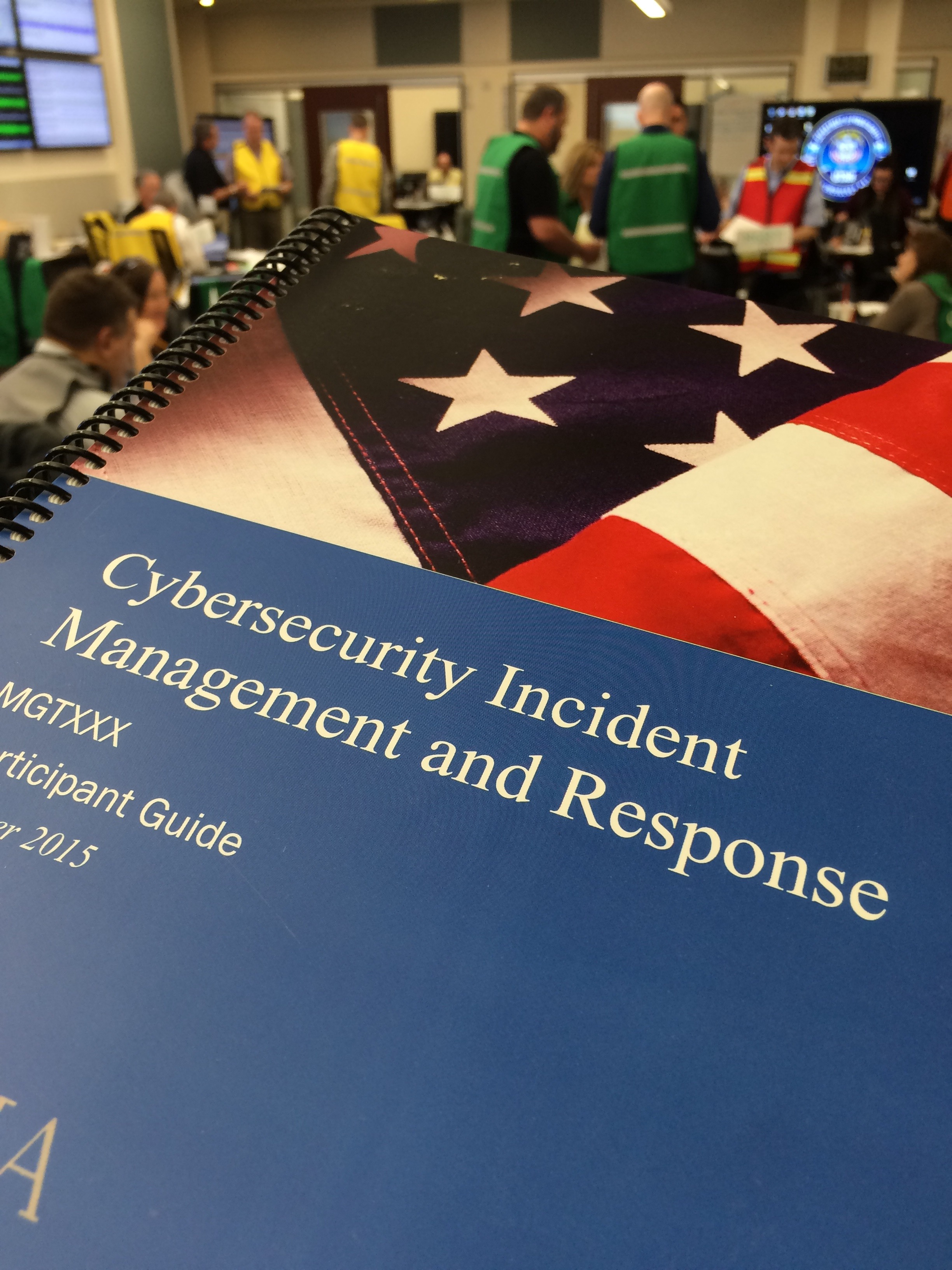 Cybersecurity incident management student manual