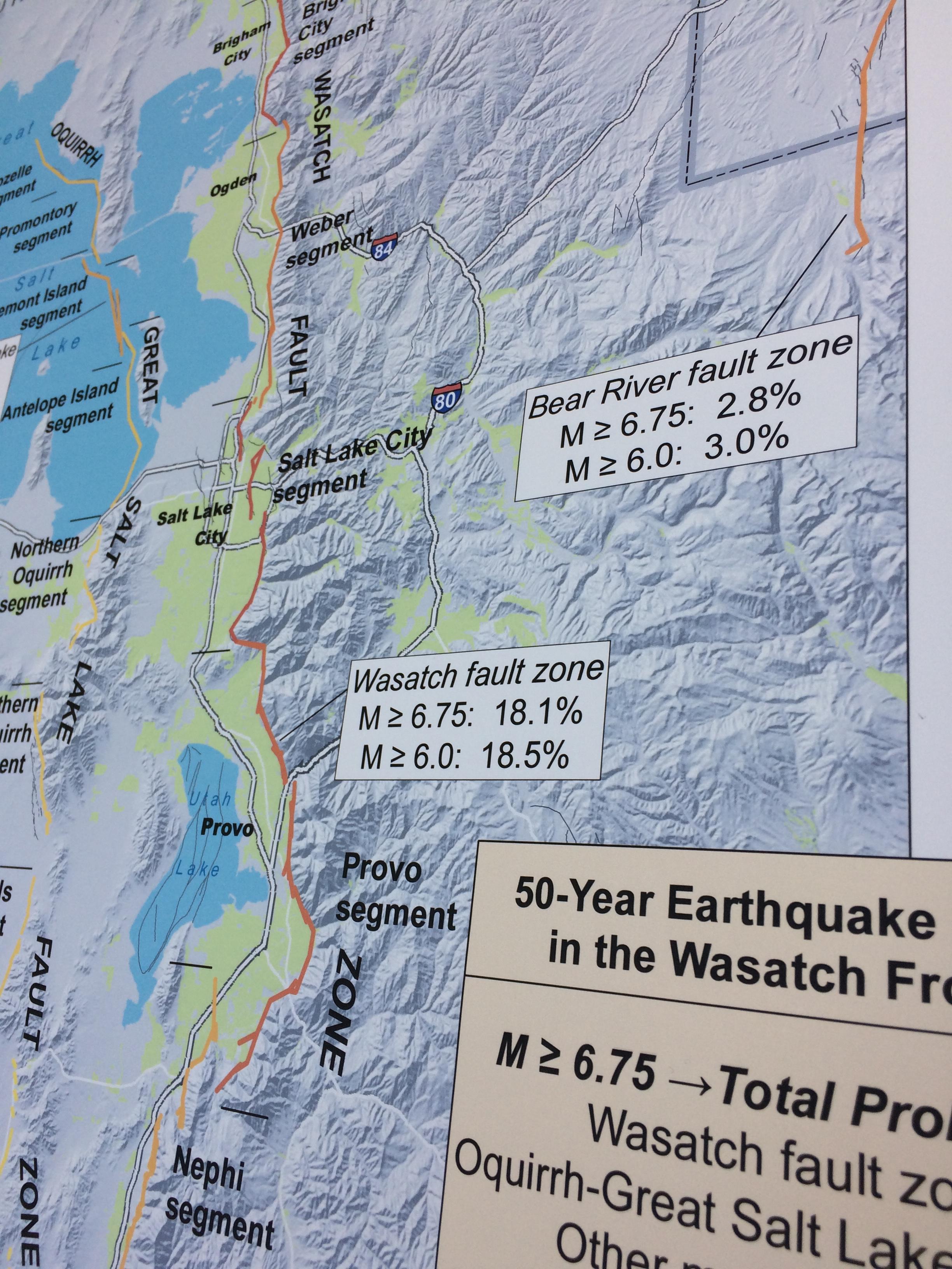 Utah Earthquake Program  DPS  Emergency Management