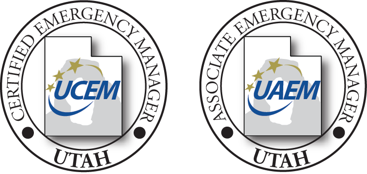 two logos of utah C E M and A E M