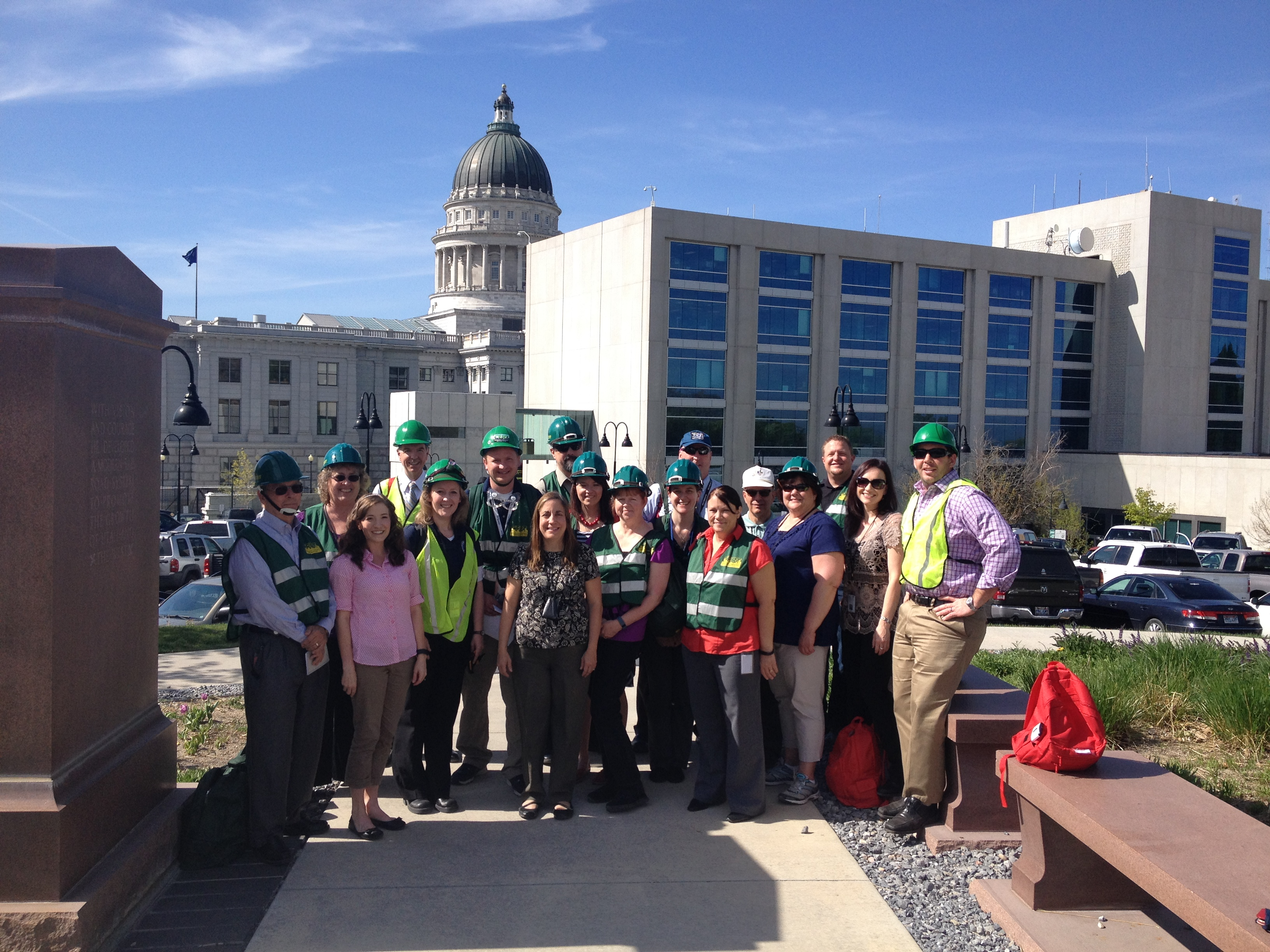 Capitol Hill CERT team ShakeOut 2016